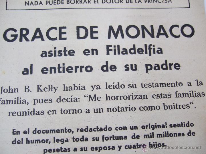 Coleccionismo de Revistas: REVISTA LECTURAS - 1960 - SARA MONTIEL - BEATRIZ DE SABOYA - MARLENE DIETRICH - FARAH DIBAH - Y MAS - Foto 11 - 48661712