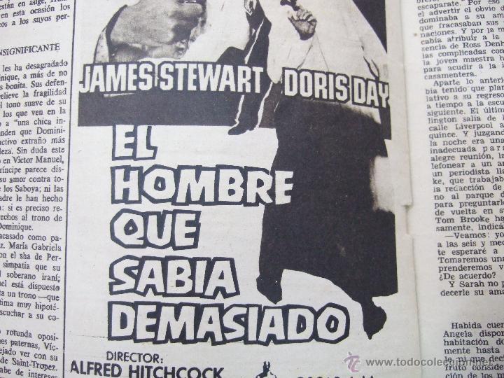 Coleccionismo de Revistas: REVISTA LECTURAS - 1960 - SARA MONTIEL - BEATRIZ DE SABOYA - MARLENE DIETRICH - FARAH DIBAH - Y MAS - Foto 12 - 48661712