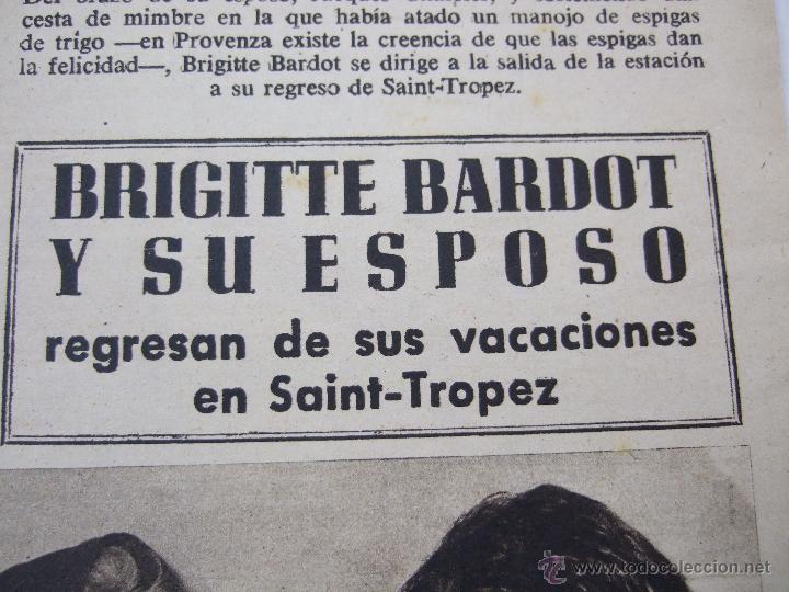 Coleccionismo de Revistas: REVISTA LECTURAS - 1960 - SARA MONTIEL - BEATRIZ DE SABOYA - MARLENE DIETRICH - FARAH DIBAH - Y MAS - Foto 14 - 48661712
