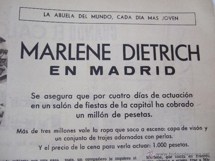Coleccionismo de Revistas: REVISTA LECTURAS - 1960 - SARA MONTIEL - BEATRIZ DE SABOYA - MARLENE DIETRICH - FARAH DIBAH - Y MAS - Foto 16 - 48661712