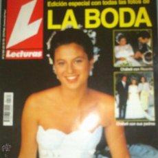 Coleccionismo de Revistas: ESPECIAL BODA CHÁBELI IGLESIAS 1993 Nº2164 EE. Lote 48715855