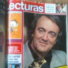 Coleccionismo de Revistas: REVISTA LECTURAS AÑO 1976-1981.HISTORIA DE ESPAÑA.FELIX RODRIGUEZ.13 REVISTAS.. Lote 50053471