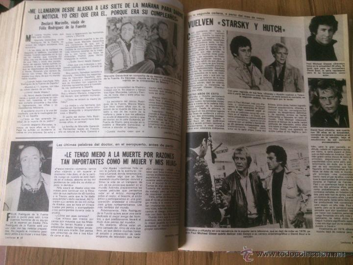 Coleccionismo de Revistas: Revista Lecturas año 1976-1981.HISTORIA DE ESPAÑA.FELIX RODRIGUEZ.13 revistas. - Foto 2 - 50053471