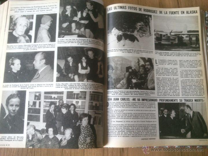 Coleccionismo de Revistas: Revista Lecturas año 1976-1981.HISTORIA DE ESPAÑA.FELIX RODRIGUEZ.13 revistas. - Foto 3 - 50053471