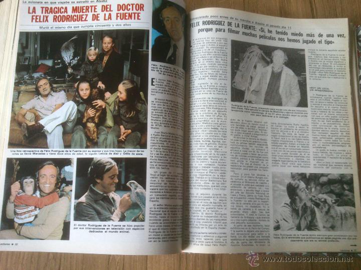 Coleccionismo de Revistas: Revista Lecturas año 1976-1981.HISTORIA DE ESPAÑA.FELIX RODRIGUEZ.13 revistas. - Foto 5 - 50053471