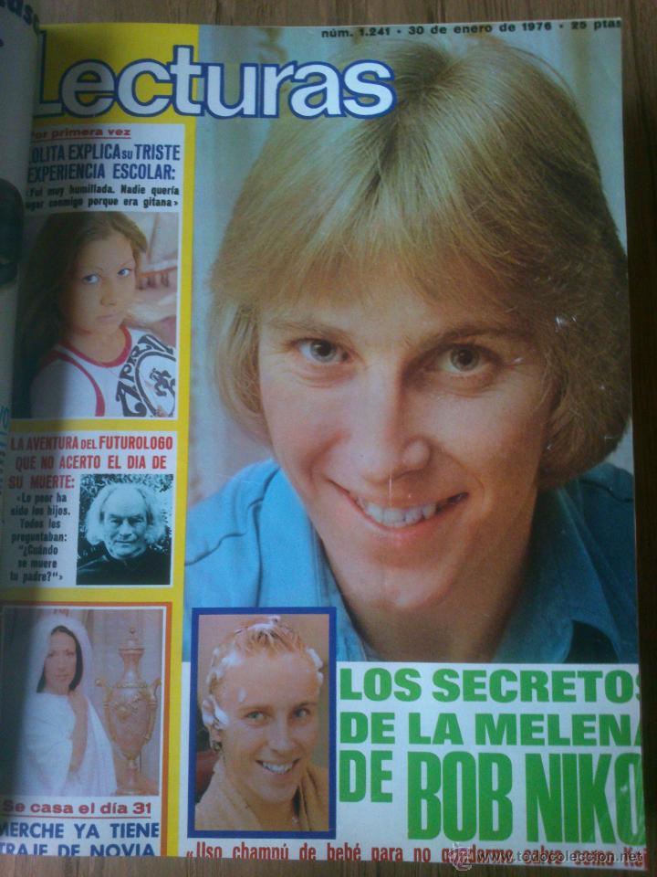 Coleccionismo de Revistas: Revista Lecturas año 1976-1981.HISTORIA DE ESPAÑA.FELIX RODRIGUEZ.13 revistas. - Foto 7 - 50053471