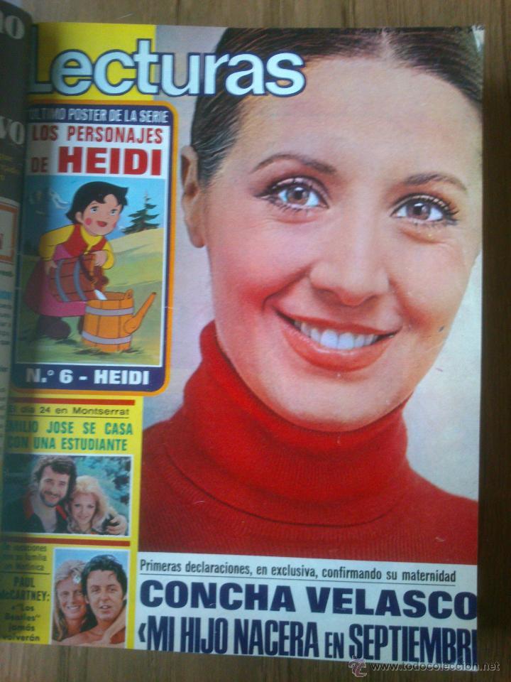 Coleccionismo de Revistas: Revista Lecturas año 1976-1981.HISTORIA DE ESPAÑA.FELIX RODRIGUEZ.13 revistas. - Foto 8 - 50053471
