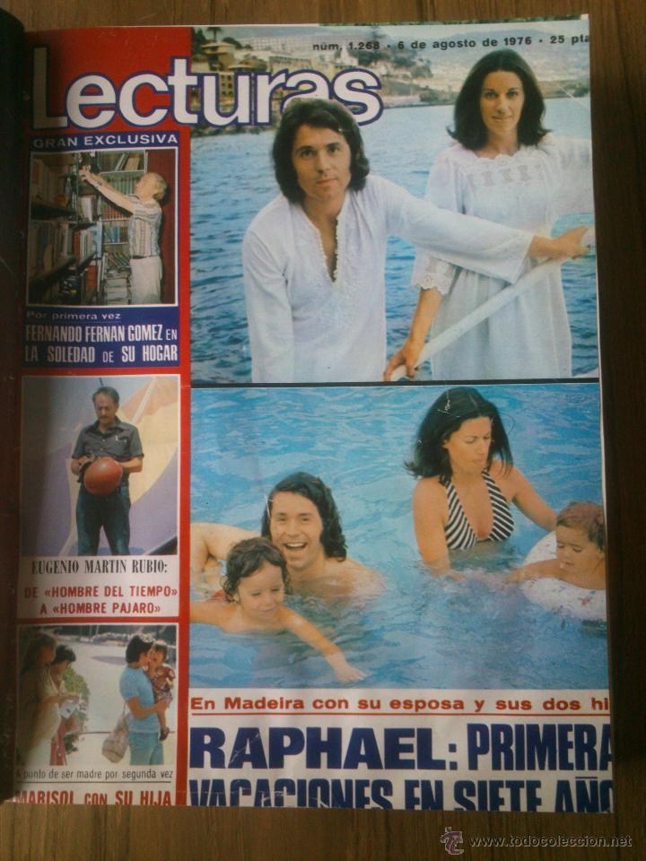 Coleccionismo de Revistas: Revista Lecturas año 1976-1981.HISTORIA DE ESPAÑA.FELIX RODRIGUEZ.13 revistas. - Foto 9 - 50053471