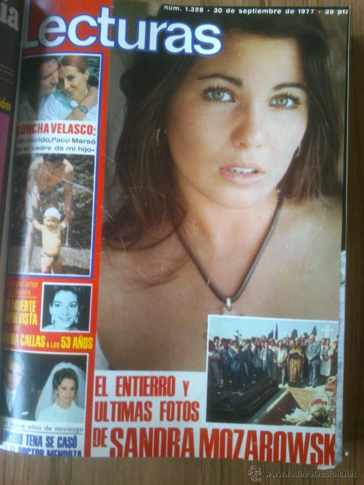 Coleccionismo de Revistas: Revista Lecturas año 1976-1981.HISTORIA DE ESPAÑA.FELIX RODRIGUEZ.13 revistas. - Foto 11 - 50053471