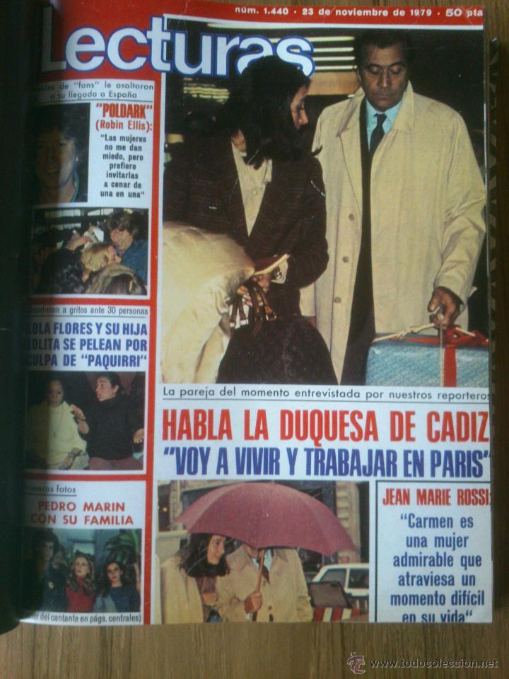Coleccionismo de Revistas: Revista Lecturas año 1976-1981.HISTORIA DE ESPAÑA.FELIX RODRIGUEZ.13 revistas. - Foto 12 - 50053471