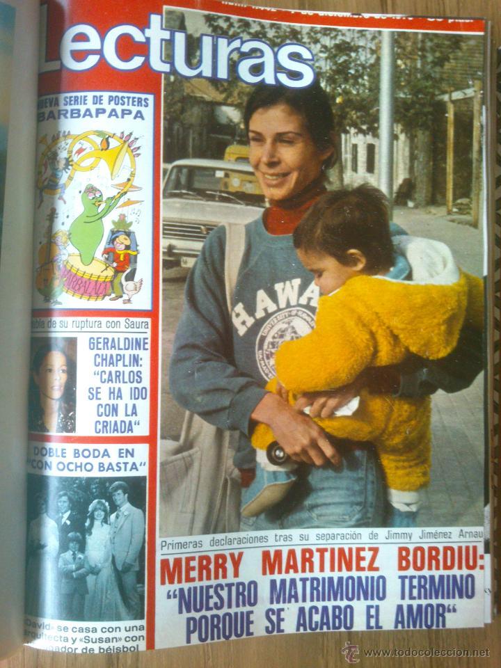 Coleccionismo de Revistas: Revista Lecturas año 1976-1981.HISTORIA DE ESPAÑA.FELIX RODRIGUEZ.13 revistas. - Foto 13 - 50053471