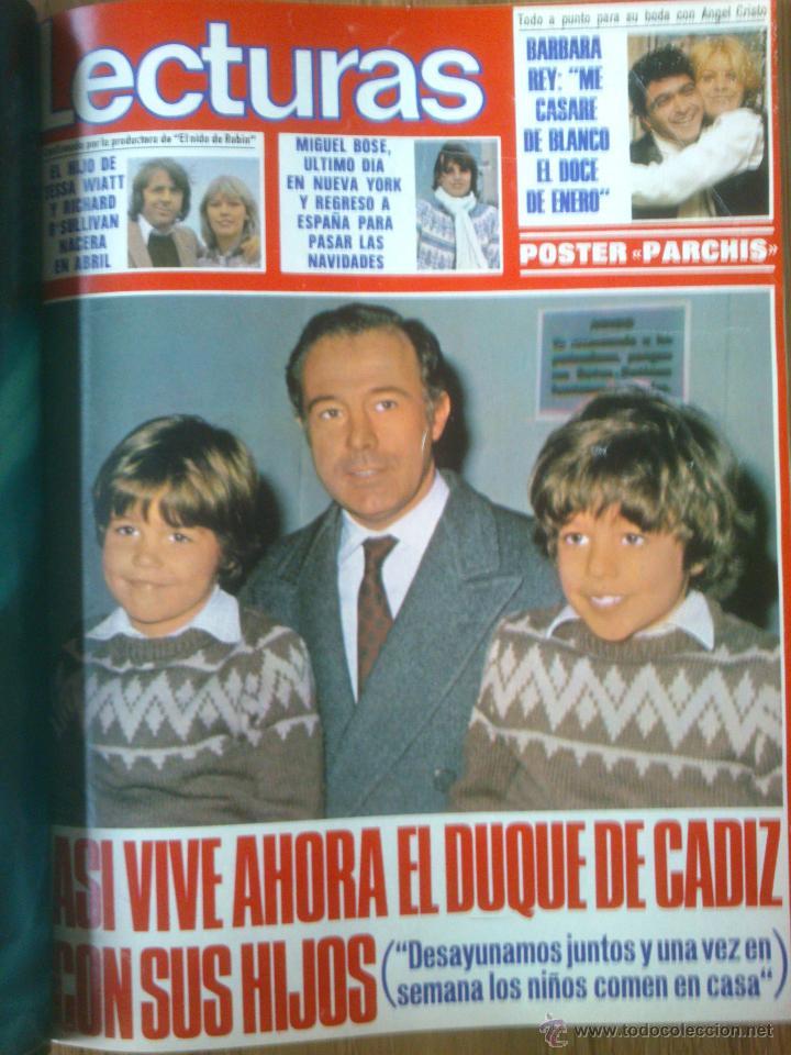 Coleccionismo de Revistas: Revista Lecturas año 1976-1981.HISTORIA DE ESPAÑA.FELIX RODRIGUEZ.13 revistas. - Foto 15 - 50053471