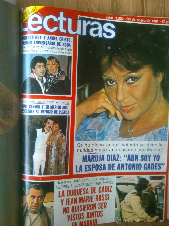 Coleccionismo de Revistas: Revista Lecturas año 1976-1981.HISTORIA DE ESPAÑA.FELIX RODRIGUEZ.13 revistas. - Foto 17 - 50053471