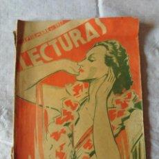 Collectionnisme de Magazines: MAGNIFICA ANTIGUA REVISTA LECTURAS SEPTIEMBRE DE 1937. Lote 50726440