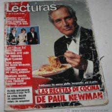 Coleccionismo de Revistas: LECTURAS 671, 27 ABRIL 1984, LAS RECETAS DE PAUL NEWMAN, OSCARS 84, PRINCIPE FELIPE, REVISTA ANTIGUA. Lote 50955941