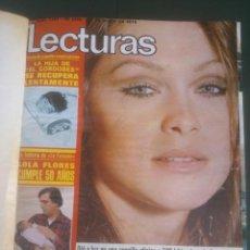 Coleccionismo de Revistas: REVISTA LECTURAS VER FOTOS HISTORIA DE ESPAÑA 18 REVISTAS AÑOS;70S. Lote 51036098