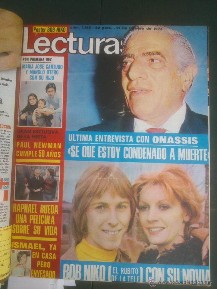 Coleccionismo de Revistas: Revista Lecturas VER FOTOS historia de España 18 revistas años;70s - Foto 2 - 51036098
