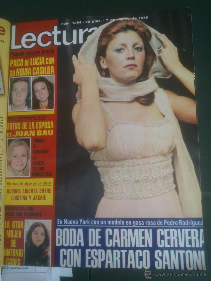 Coleccionismo de Revistas: Revista Lecturas VER FOTOS historia de España 18 revistas años;70s - Foto 3 - 51036098