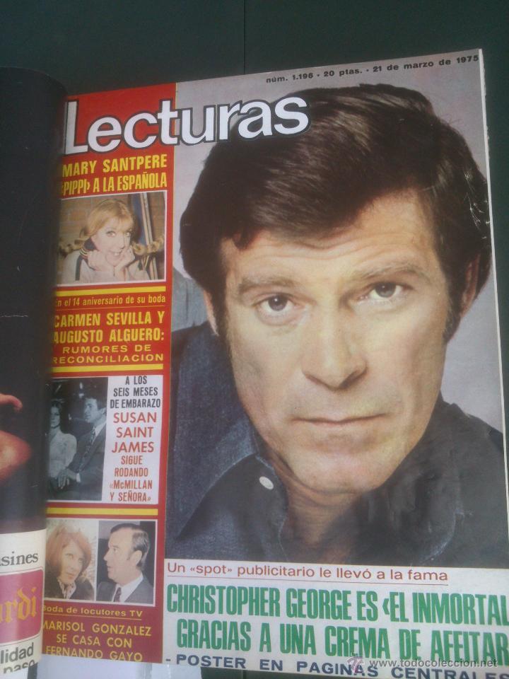 Coleccionismo de Revistas: Revista Lecturas VER FOTOS historia de España 18 revistas años;70s - Foto 4 - 51036098