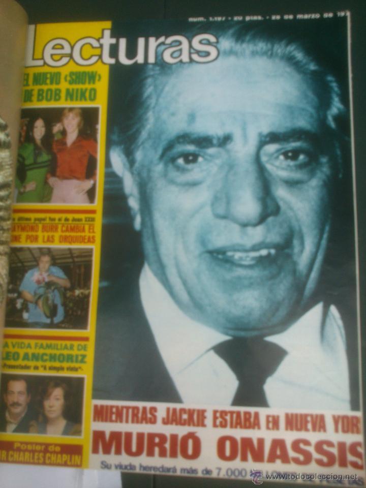 Coleccionismo de Revistas: Revista Lecturas VER FOTOS historia de España 18 revistas años;70s - Foto 5 - 51036098
