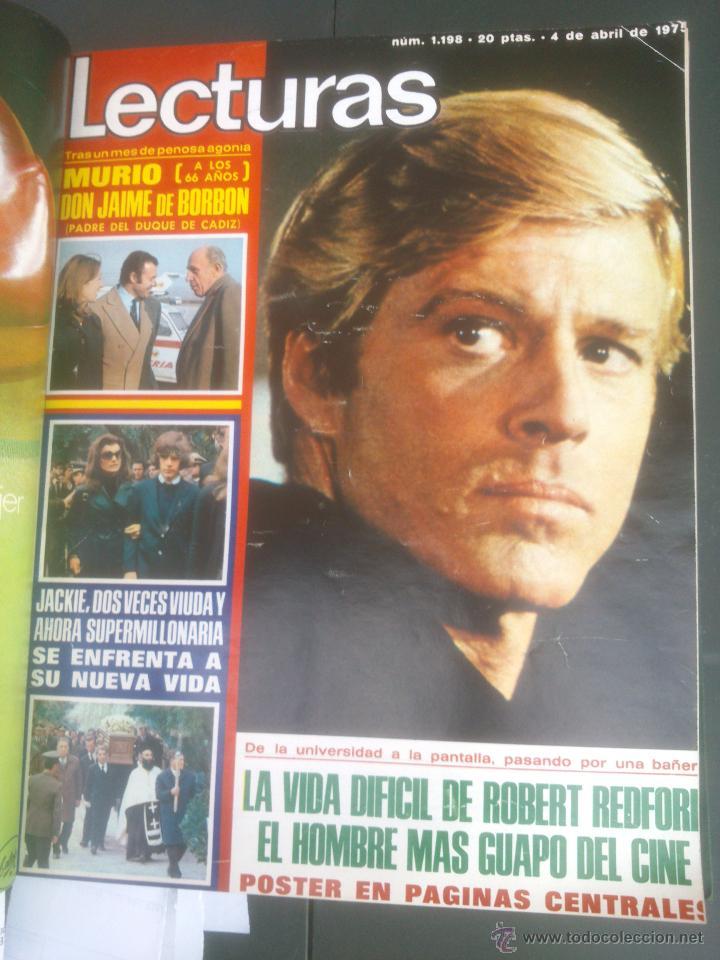 Coleccionismo de Revistas: Revista Lecturas VER FOTOS historia de España 18 revistas años;70s - Foto 6 - 51036098