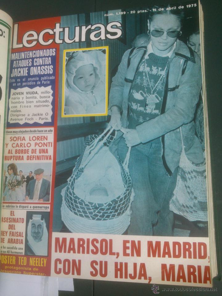 Coleccionismo de Revistas: Revista Lecturas VER FOTOS historia de España 18 revistas años;70s - Foto 7 - 51036098