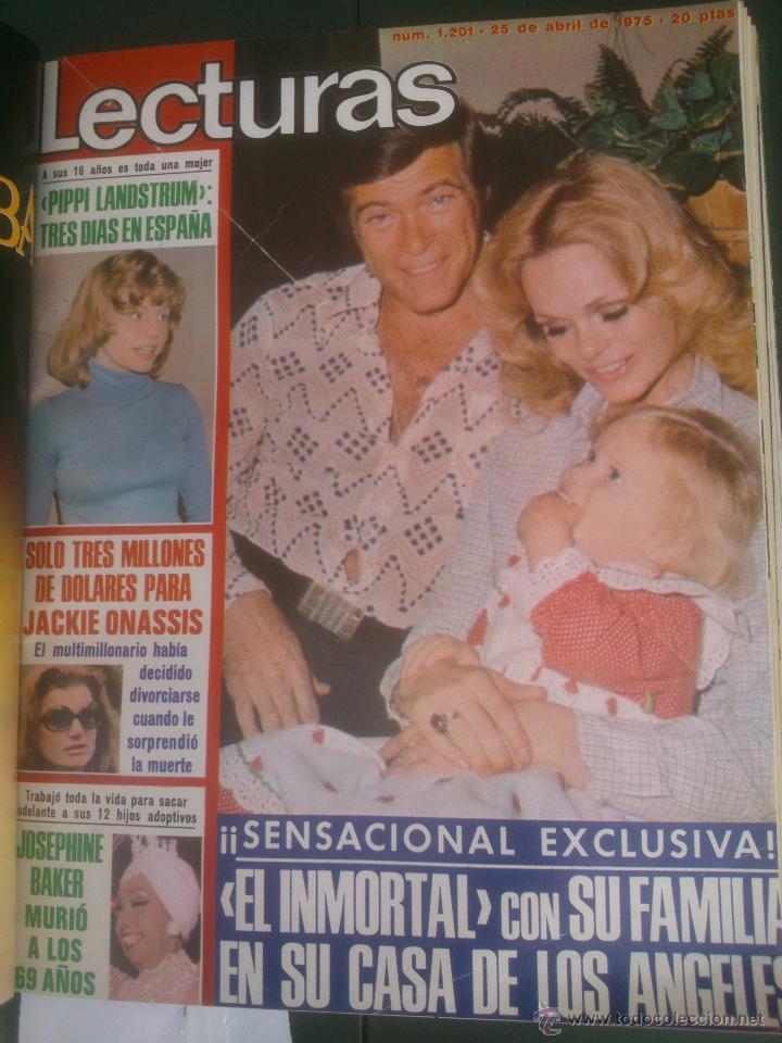 Coleccionismo de Revistas: Revista Lecturas VER FOTOS historia de España 18 revistas años;70s - Foto 9 - 51036098