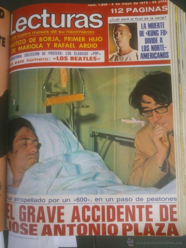 Coleccionismo de Revistas: Revista Lecturas VER FOTOS historia de España 18 revistas años;70s - Foto 10 - 51036098