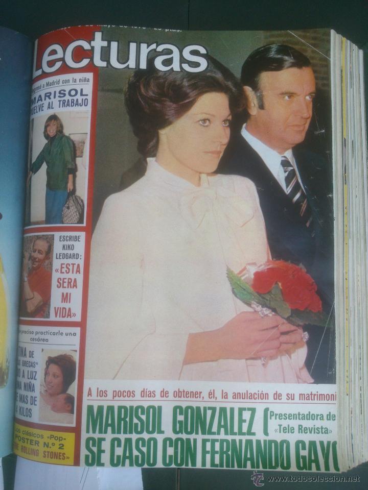 Coleccionismo de Revistas: Revista Lecturas VER FOTOS historia de España 18 revistas años;70s - Foto 11 - 51036098