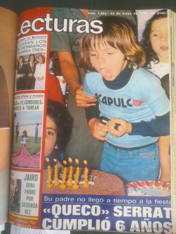 Coleccionismo de Revistas: Revista Lecturas VER FOTOS historia de España 18 revistas años;70s - Foto 12 - 51036098