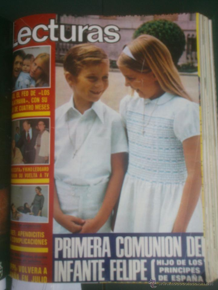 Coleccionismo de Revistas: Revista Lecturas VER FOTOS historia de España 18 revistas años;70s - Foto 13 - 51036098