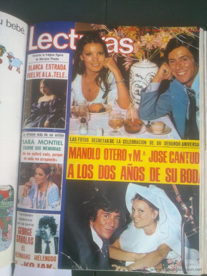 Coleccionismo de Revistas: Revista Lecturas VER FOTOS historia de España 18 revistas años;70s - Foto 16 - 51036098