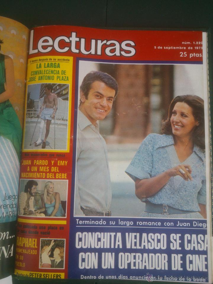 Coleccionismo de Revistas: Revista Lecturas VER FOTOS historia de España 18 revistas años;70s - Foto 18 - 51036098