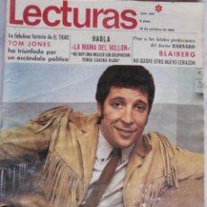 Coleccionismo de Revistas: LECTURAS - TOM JONES - PACO RABAL - MASIEL - Nº 861 - OCTUBRE 1968. Lote 51996071