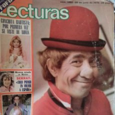 Coleccionismo de Revistas: LECTURAS LA TRAGEDIA DE FOFO 1978 . Lote 52155953