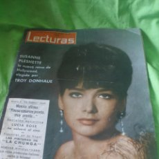 Coleccionismo de Revistas: REVISTA LECTURAS,AÑO 1963,Nº605.PINTURA DE LA CHUNGA,LUCIA BOSE.. Lote 52514326