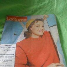 Coleccionismo de Revistas: REVISTA LECTURAS,AÑO 1963,Nº572.VIGESIMOCUARTO ANIVERSARIO DE LA VICTORIA.. Lote 52514664