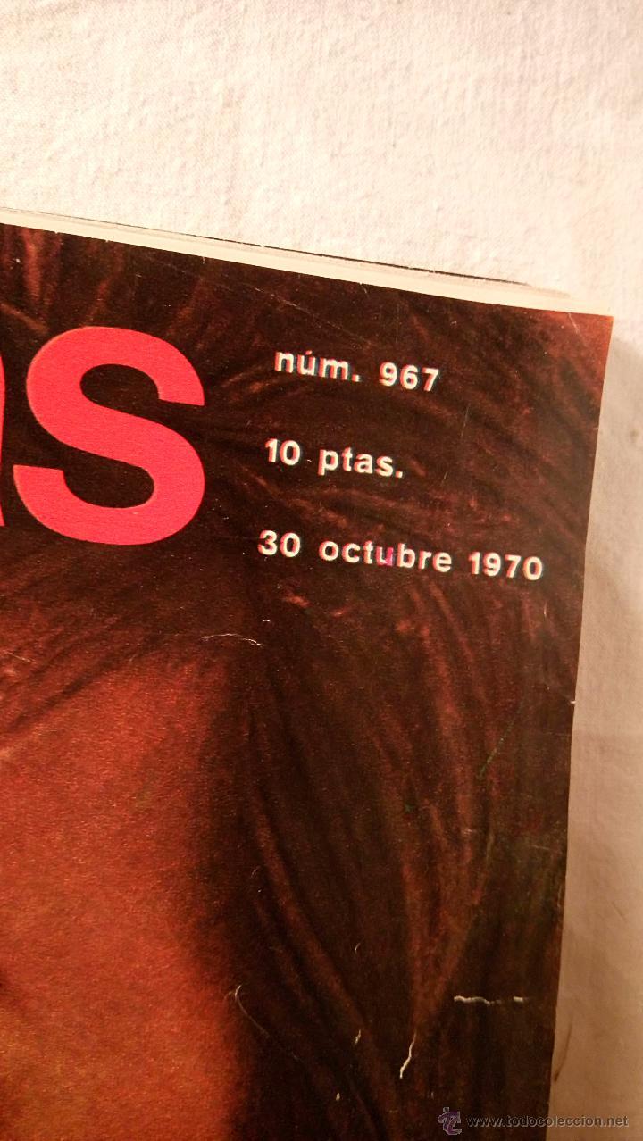 Coleccionismo de Revistas: REVISTA LECTURAS AÑO 1970 Nº 967 MUNA DE JORDANIA LIZ TAYLOR FARAH DIBA MIGUEL RIOS LOT200 - Foto 2 - 53020824
