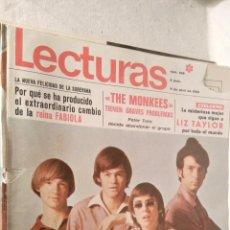 Coleccionismo de Revistas: SEMANA 886 1969 THE MONKEES PETER TORK LIZ TAYLOR LOT200. Lote 53404043