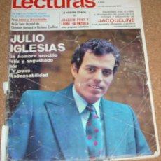 Coleccionismo de Revistas: LECTURAS 932-27 FEBRERO 1970- JOHN Y YOKO, REPORTAJE DE 1 PG. Y 4 FOTOS-ARTICULO Y FOTO DE PLATANITO. Lote 54030179