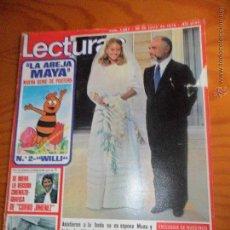 Collectionnisme de Magazines: LECTURAS Nº 1367 DE 1978- HUSSEIN JORDANIA, SERRAT, RAMONCIN, RAFAELA APARICIO, BUERO VALLEJO, VER +. Lote 54058292
