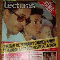 Coleccionismo de Revistas: LECTURAS 1619-29 ABRIL 1983-MARISOL REPORTAJE 1 PG 4 FOTOS-MASSIEL 2 PG 7 FOTOS-PANTOJA-VER ENVIO. Lote 54071252