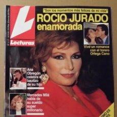 Coleccionismo de Revistas: REVISTA LECTURAS 1992 / ROCIO JURADO.. Lote 54230497