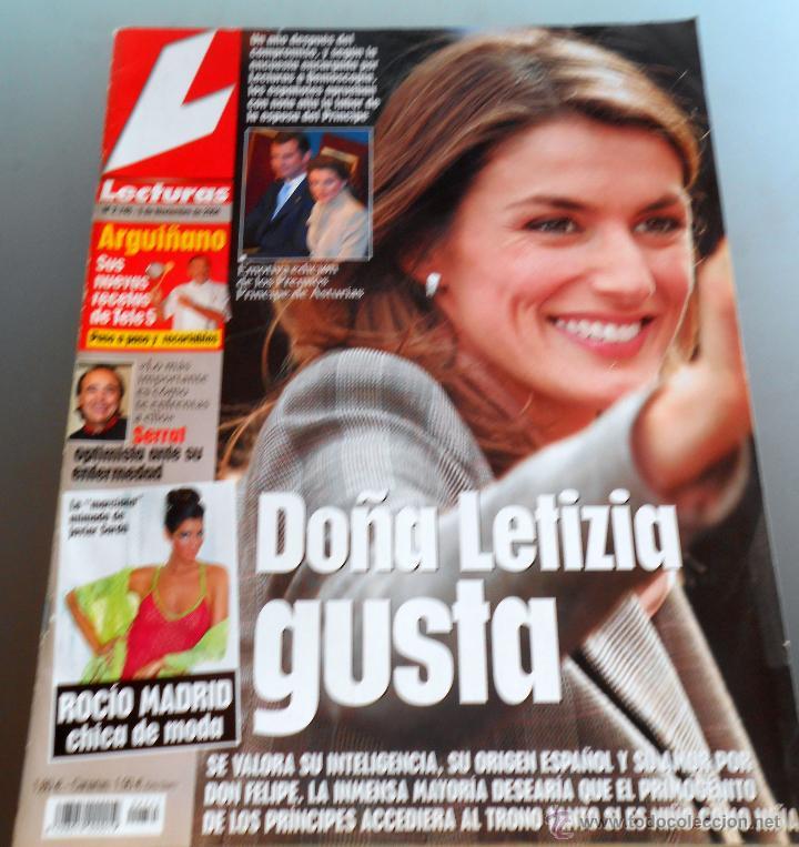 LECTURAS Nº 2745 (Coleccionismo - Revistas y Periódicos Modernos (a partir de 1.940) - Revista Lecturas)