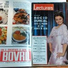 Coleccionismo de Revistas: TOMO ENCUADERNADO DE LECTURAS. Lote 54543690