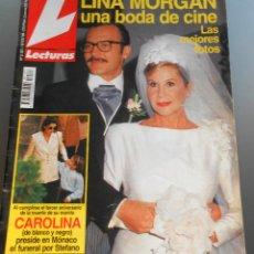 Coleccionismo de Revistas: LECTURAS 1993. Lote 54719087