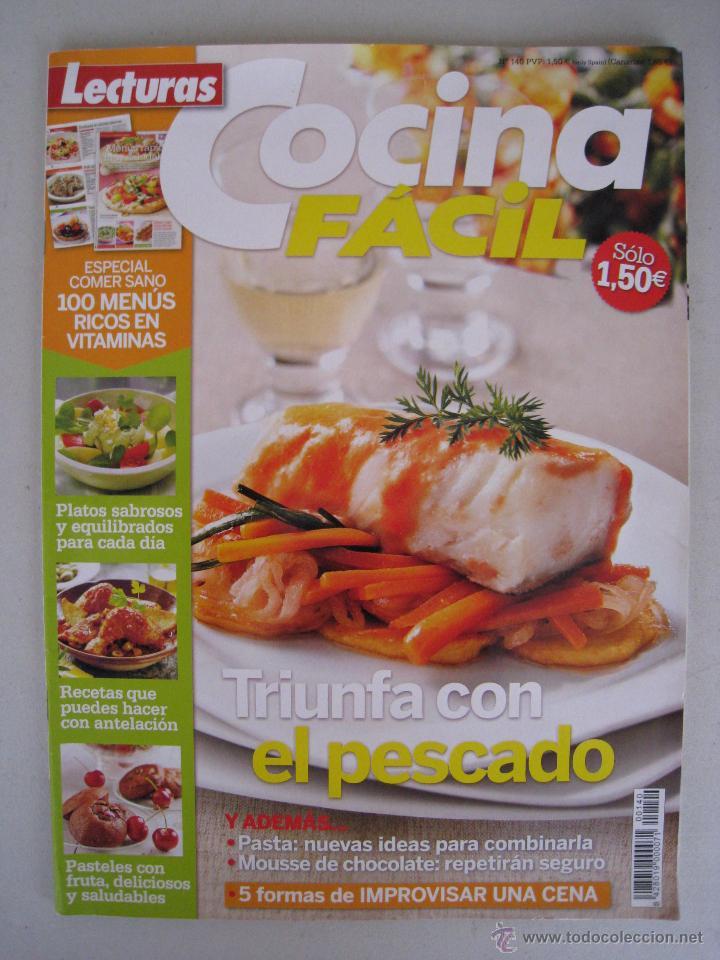 lecturas nº 140 - cocina facil - triunfa con el - Kaufen Zeitschrift ...