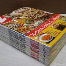 Coleccionismo de Revistas: LECTURAS-ESPECIAL RECETAS COCINA Nº 1,2,3,4,5,6,7,8,9.. Lote 101743476
