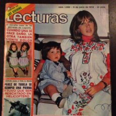 Coleccionismo de Revistas: REVISTA LECTURAS N° 1260 / MARISOL Y SU HIJA / 1976. Lote 56011823