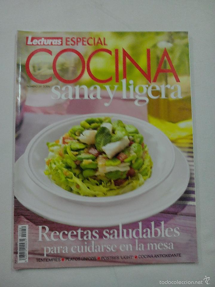 Revista lecturas especial cocina sana y ligera comprar - Revista cocina facil lecturas ...